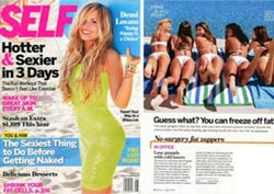 zerona in self magazine